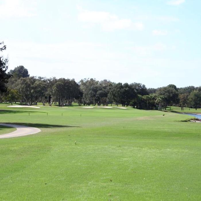 Hole 17 � Par 4: There is water and there are bunkers, but not to fret.  Aim your tee shot toward the three bunkers in the middle of the fairway.  Your second shot is onto a saddle green � an approach shot to the wrong level can lead to a 3-putt, so be sure of your yardages.